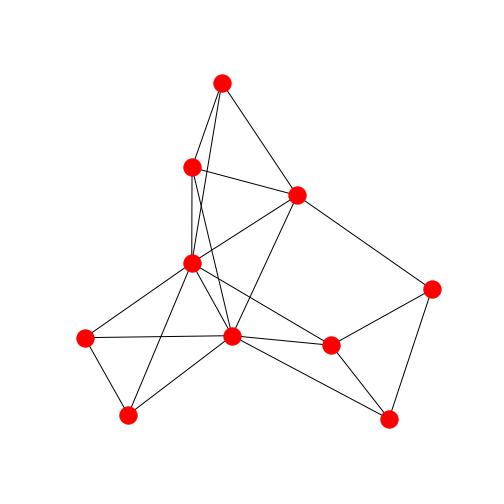 クリーク分割前のグラフ1